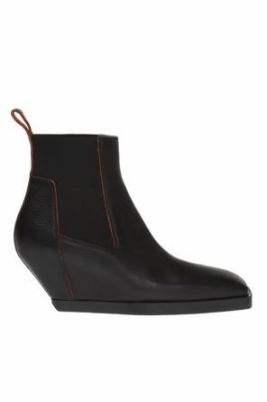 Cut-out wedge boots od Rick Owens