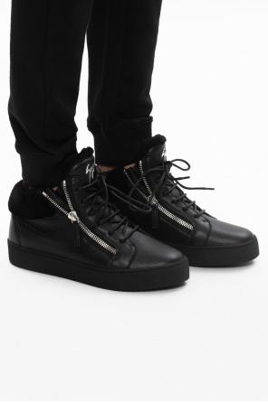 'may london' leather boots od Giuseppe Zanotti