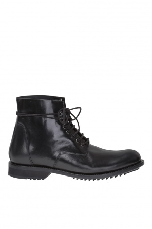 Leather ankle boots od Rick Owens