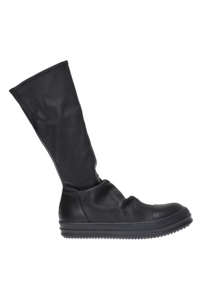 Leather high-top sneakers od Rick Owens