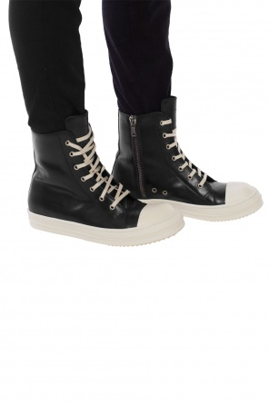 Lace-up high-top sneakers od Rick Owens