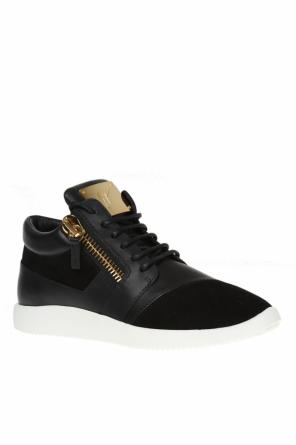 'runner' leather sneakers od Giuseppe Zanotti