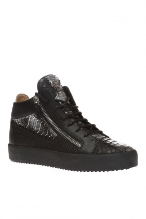 'kriss metallic' high ankle sport shoes od Giuseppe Zanotti