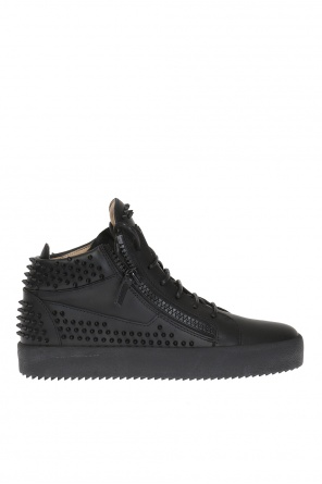 Studded high-top sneakers od Giuseppe Zanotti