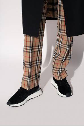 'verona' velvet sneakers od Giuseppe Zanotti
