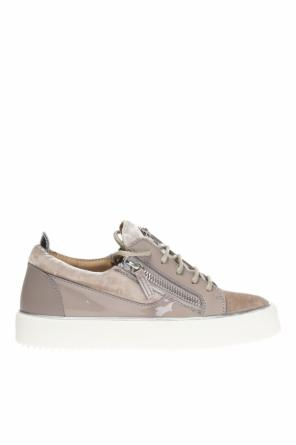 Sneakers with decorative logo od Giuseppe Zanotti