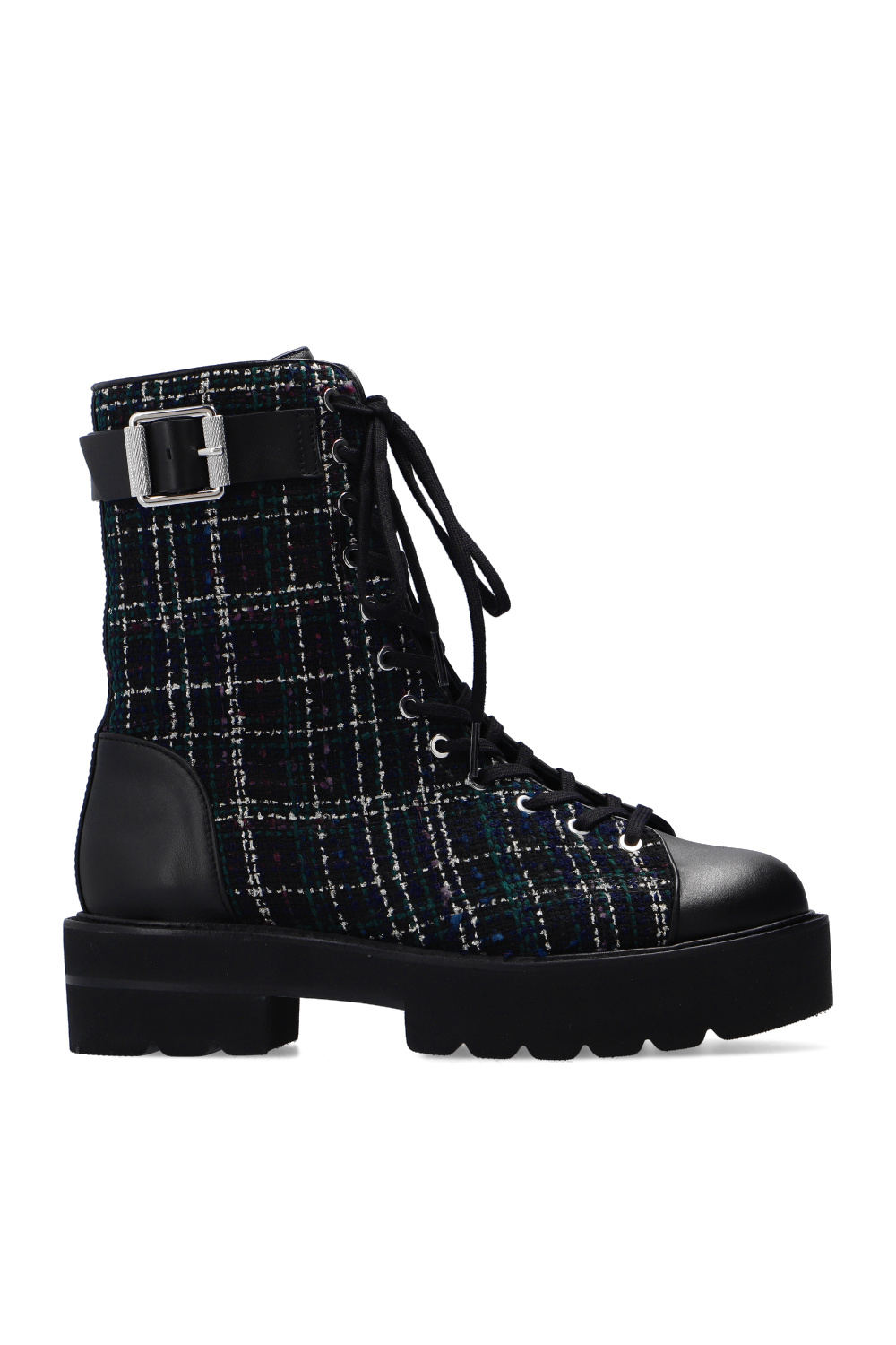 Stuart Weitzman 'Ryder Ultralift' lace-up ankle boots