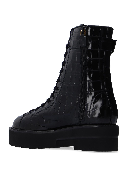 Stuart Weitzman 'Ryder' patent leather boots