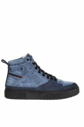 S-danny mc' high ankle sport shoes on the platform od Diesel