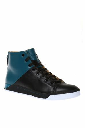 's-emerald' high-top sneakers od Diesel