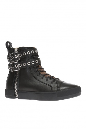 's-nentish' high-top sneakers od Diesel