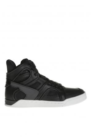 Leather high-top sneakers od Diesel