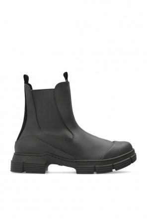 Rubber ankle boots od Ganni