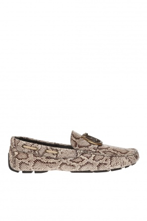 Leather loafers od Just Cavalli