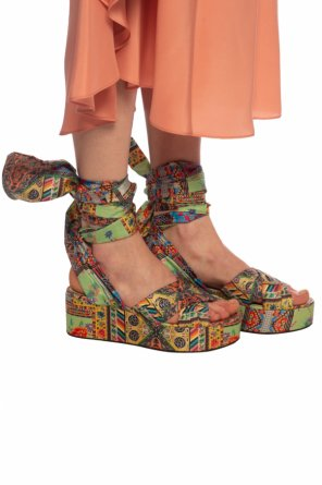 Wedge sandals od Etro