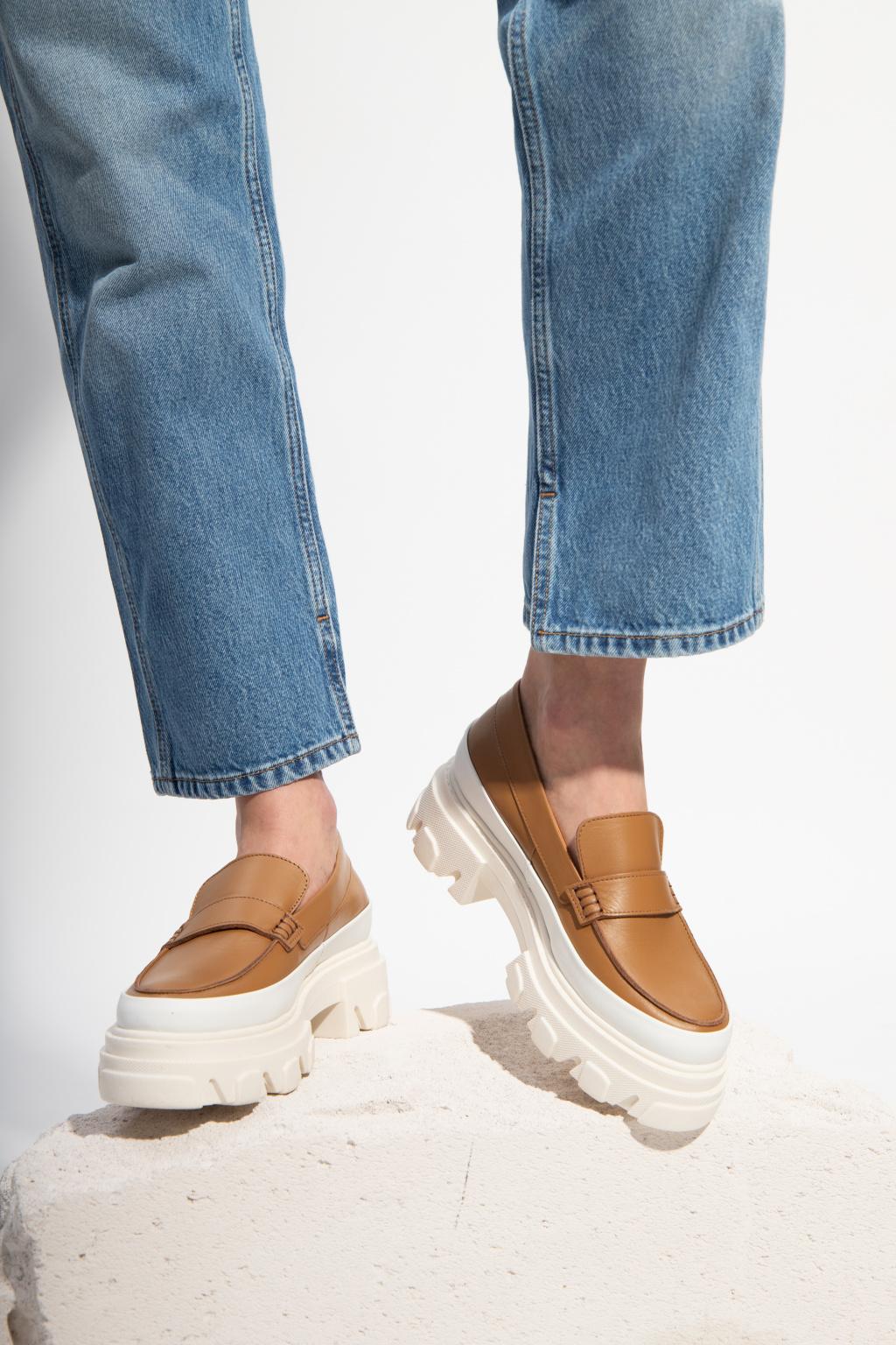 Ganni Leather moccasins