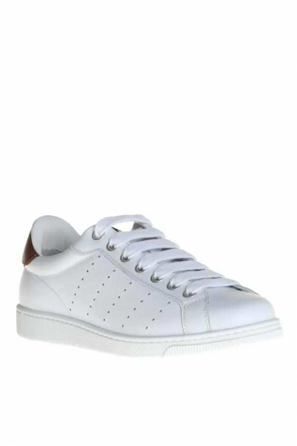 3ff3f477209 Leather Sneakers Dsquared2 - Vitkac shop online