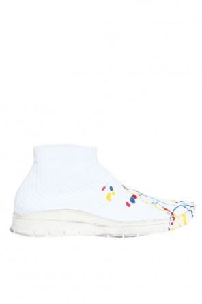 'paint drop' sneakers od Maison Margiela