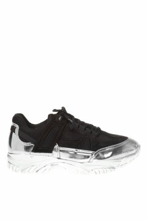 Sneakers with metallic elements od Maison Margiela