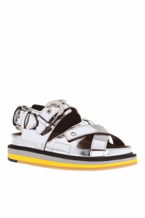 Leather sandals od Maison Margiela