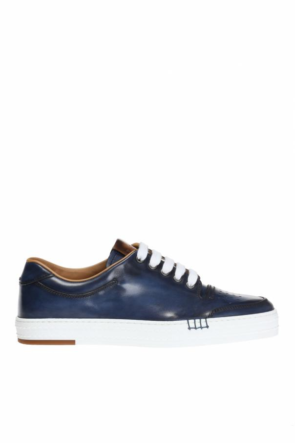 Berluti Playtime Palermo Leather Sneaker