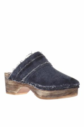 Denim clogs od MM6 Maison Margiela