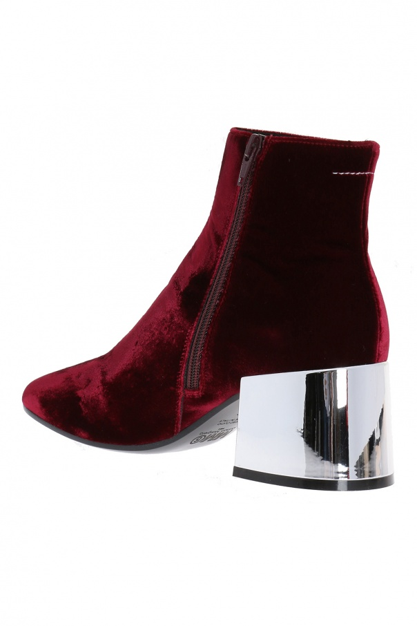 Embellished ankle boots od MM6 Maison Margiela