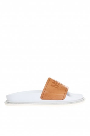 Embossed logo slides od MM6 Maison Margiela