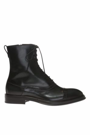 Black Boots Yellow Laces
