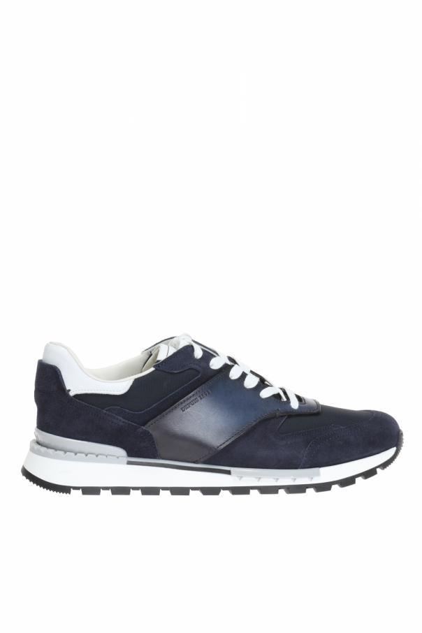 Berluti Fast Track Torino Leather Sneaker