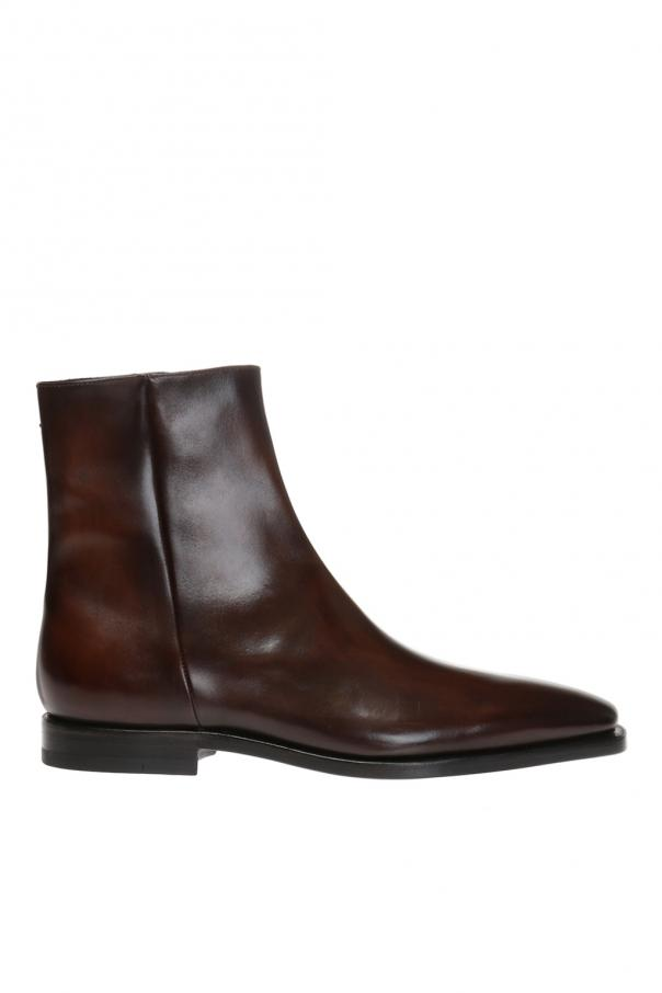 Eclair leather ankle boot od Berluti