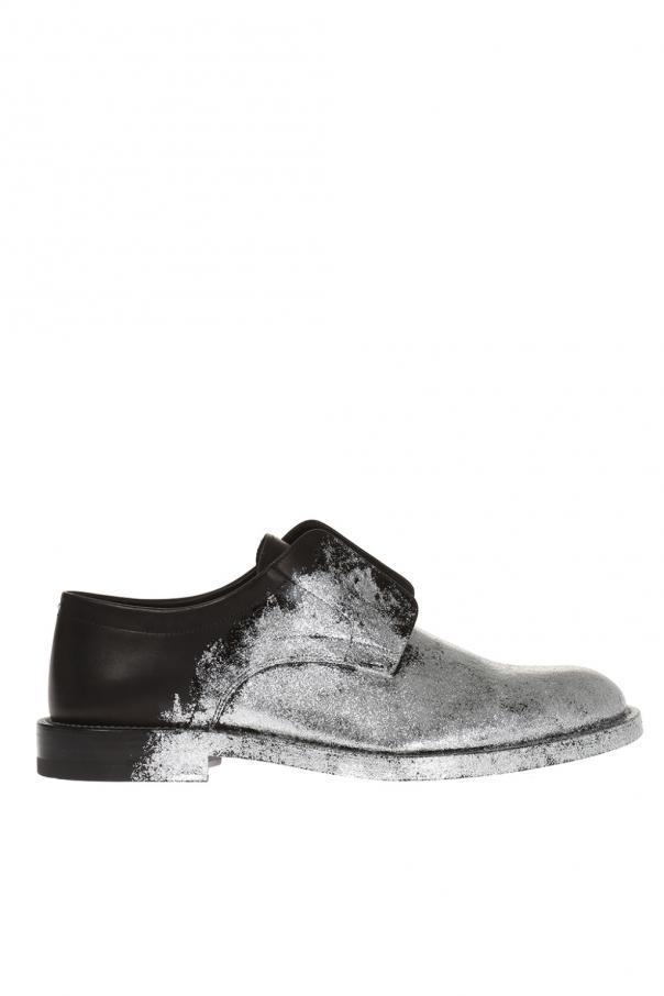 maison margiela shoes glitter