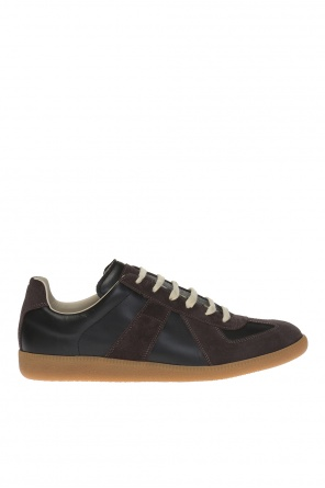 Suede-trimmed sneakers od Maison Margiela