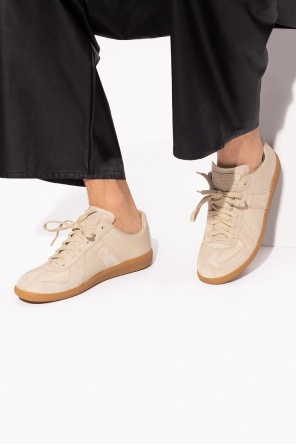 'replica' sneakers with patch od Maison Margiela