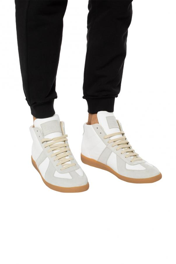 'replica' high-top sneakers od Maison Margiela