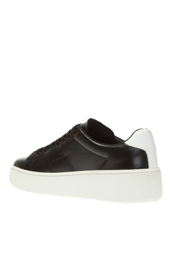 Leather platform sneakers od Maison Margiela