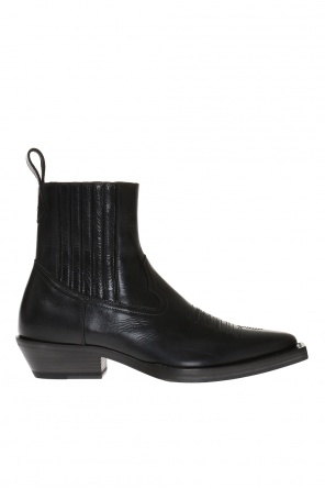 Ankle boots with stitching details od Maison Margiela