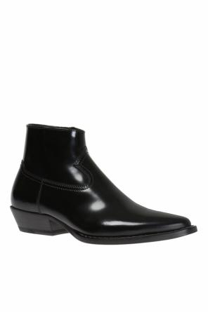 Leather ankle boots od Maison Margiela