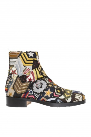 Patterned ankle boots od Maison Margiela