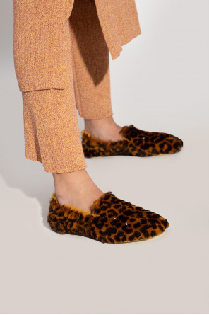Leopard print slippers od Maison Margiela