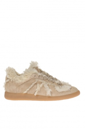 Lace-up fur shoes od Maison Margiela