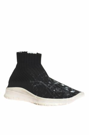 High-top sneakers with sock od Maison Margiela