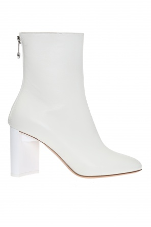 Decorative heel ankle boots od Maison Margiela