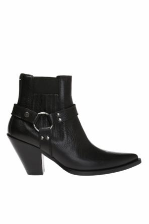 Heeled ankle boots with straps od Maison Margiela