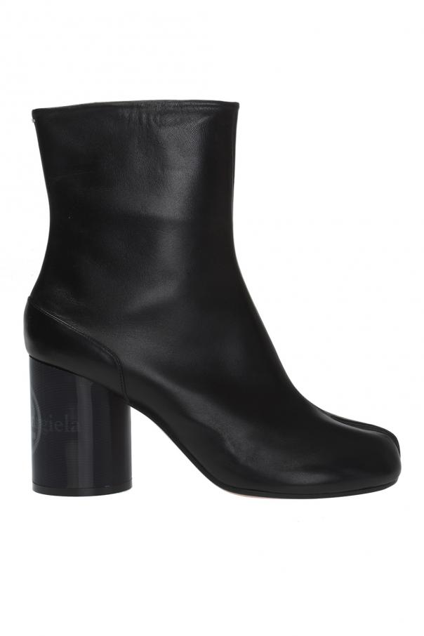 Maison Margiela Decorative 'Tabi'  heel ankle boots