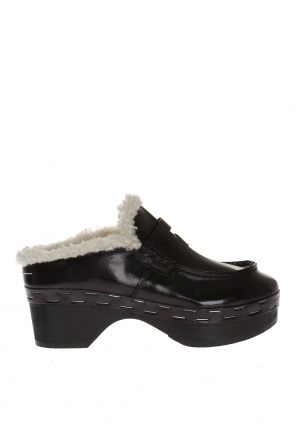 Leather clogs od MM6 Maison Margiela