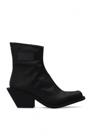 Ankle boots with logo od MM6 Maison Margiela