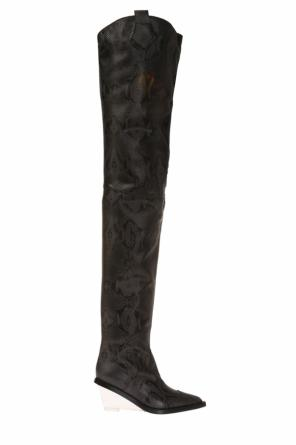 Over-the-knee heeled boots od MM6 Maison Margiela