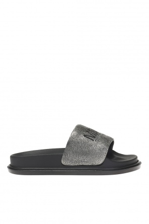Branded slides od MM6 Maison Margiela