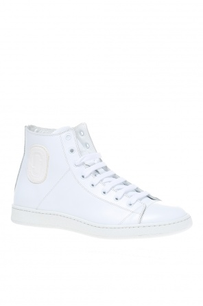 Leather high-top sneakers od Marc Jacobs